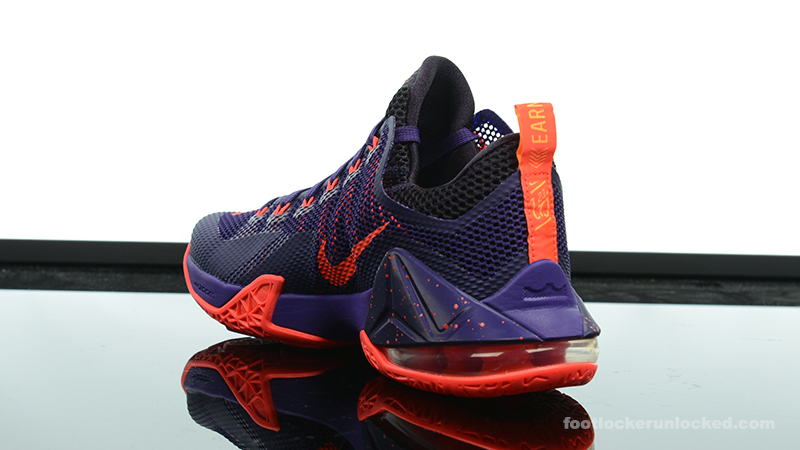 "acbd7b76b872a Nike LeBron 12 Low ""Court Purple"" – Foot Locker Blog"