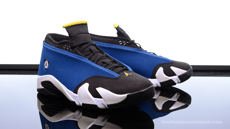"best service 4482f 534d9 Air Jordan 14 Retro Low ""Laney"" – Foot Locker Blog"