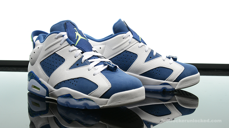 "best service 35bef bec67 Air Jordan 6 Retro Low ""Insignia Blue"" – Foot Locker Blog"