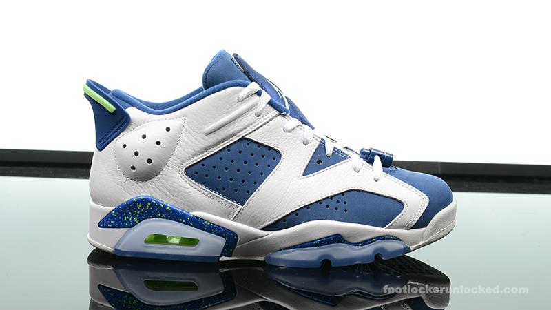 """87444960ec5f Air Jordan 6 Retro Low """"Insignia Blue"""" – Foot Locker Blog"""
