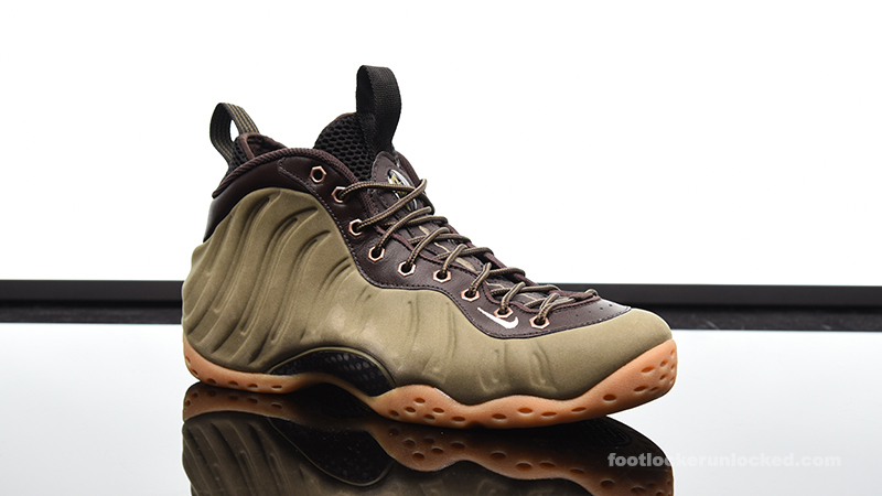 """outlet store c4f2a ce7ef Nike Air Foamposite One """"Olive"""" – Foot Locker Blog"""