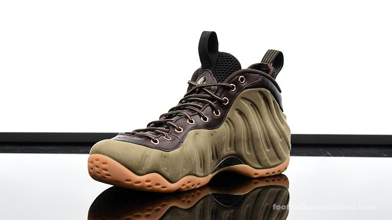 6c5740c14a0db ... shop foot locker nike air foamposite one olive 4 b4537 d6299