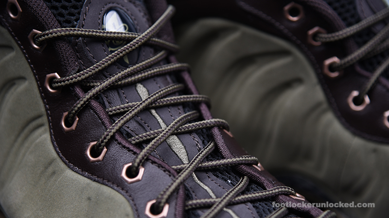 """Nike Air Foamposite One """"Olive"""" – Foot"""