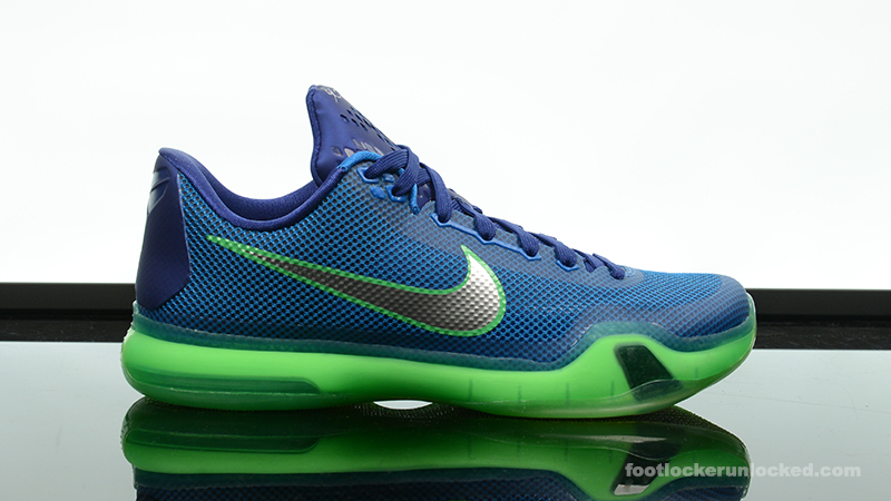 "e4f477d5f67d Nike Kobe X ""Emerald City"" – Foot Locker Blog"