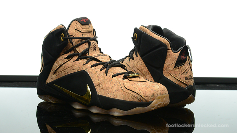 "7ad1283be1e Nike LeBron 12 EXT ""King s Cork"" – Foot Locker Blog"