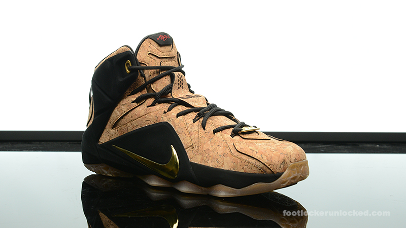 hot sale online 84913 f16f1 ... Foot-Locker-Nike-LeBron-12-EXT-Cork-3 ...