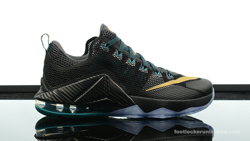 "2392ed3eeba Nike LeBron 12 Low ""SVSM"" – Foot Locker Blog"