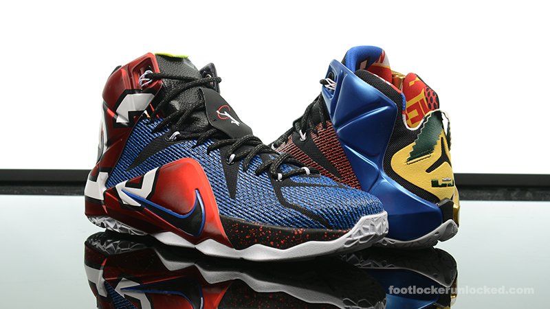 size 40 07524 a4773 ... usa foot locker nike lebron 12 what the 1 4166a 455d8