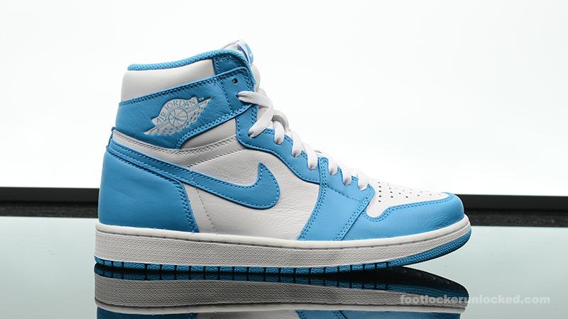 """890eca745704 Air Jordan 1 Retro High """"Powder Blue"""" – Foot Locker Blog"""
