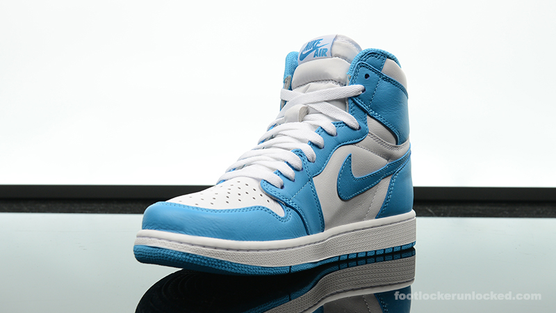 "4d8b7eba4ea7 Air Jordan 1 Retro High ""Powder Blue"" – Foot Locker Blog"