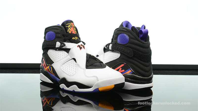 "9f1f0834f0ce Air Jordan 8 Retro ""Three Time s A Charm"" – Foot Locker Blog"
