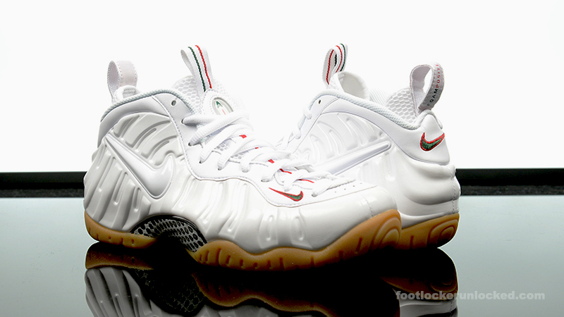 cheaper a2e0b b899a Nike Air Foamposite Pro White/Gorge Green – Foot Locker Blog