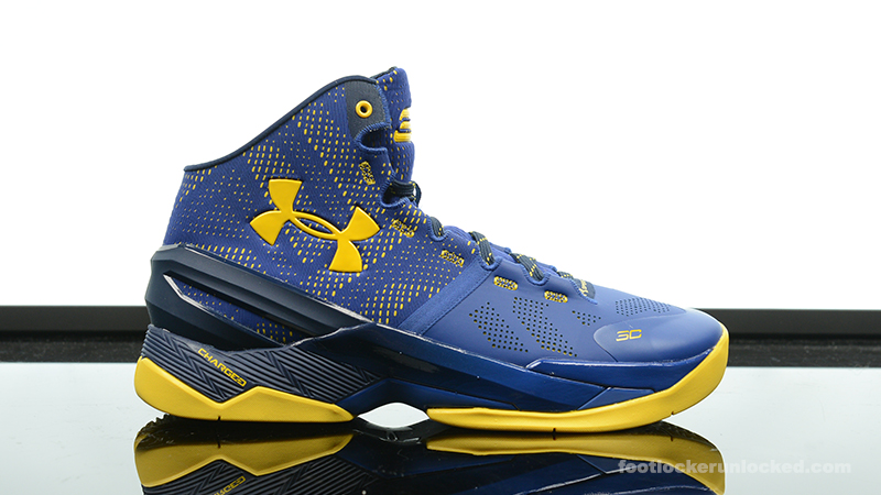 """cheaper c220e 37376 Foot Locker Exclusive: Under Armour Curry 2 """"Dub Nation ..."""