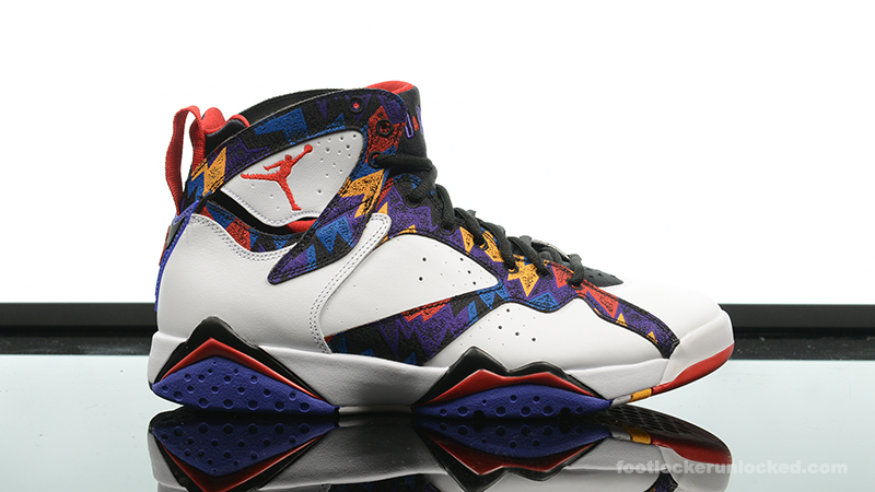 "4364e884e220be Air Jordan 7 Retro ""Nothing But Net"" – Foot Locker Blog"