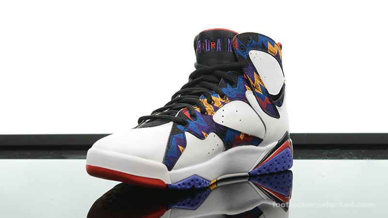 "116793a6bd41 Air Jordan 7 Retro ""Nothing But Net"" – Foot Locker Blog"