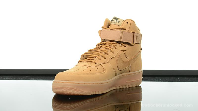 more photos d5d3e 0be32 ... Foot-Locker-Nike-Air-Force-1-High-Wheat- ...