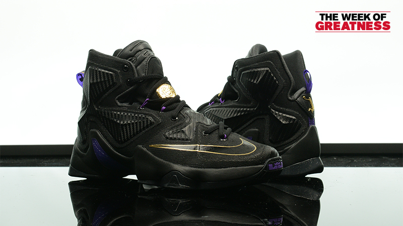 "Week Of Greatness  Nike LeBron 13 ""Pot Of Gold"". November 24th - Posted By Foot  Locker Unlocked bc64013e1"