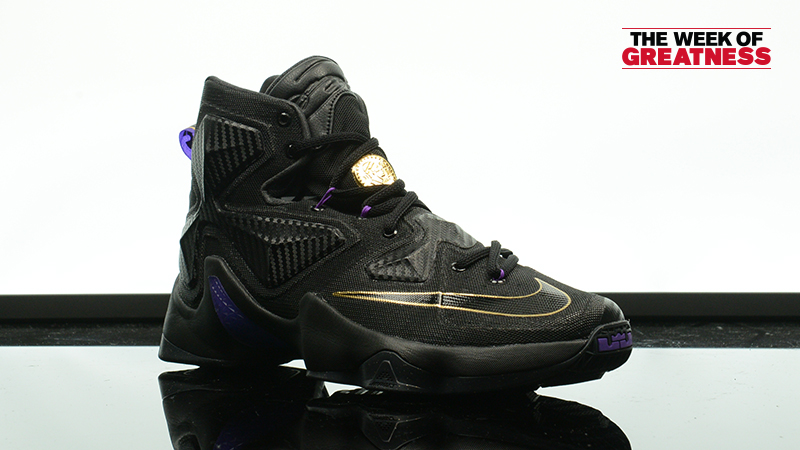 "6d9346c1211 Week Of Greatness  Nike LeBron 13 ""Pot Of Gold"" – Foot Locker Blog"