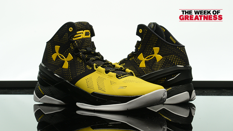 "detailed look 9898a cd100 Week Of Greatness: Under Armour Curry 2 ""Long Shot"" – Foot ..."