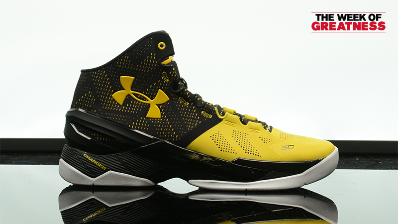 """detailed look 075d3 172f3 Week Of Greatness: Under Armour Curry 2 """"Long Shot"""" – Foot ..."""
