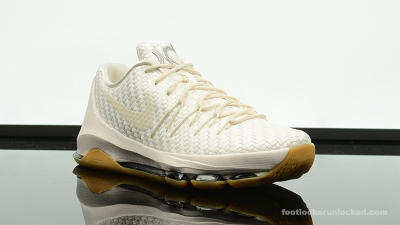 best sneakers 42531 36aae Nike KD 8 EXT White/Gum – Foot Locker Blog