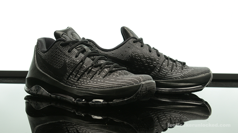 "Nike KD 8 ""Triple Black"" – Foot Locker Blog 0fed9cf9a259"