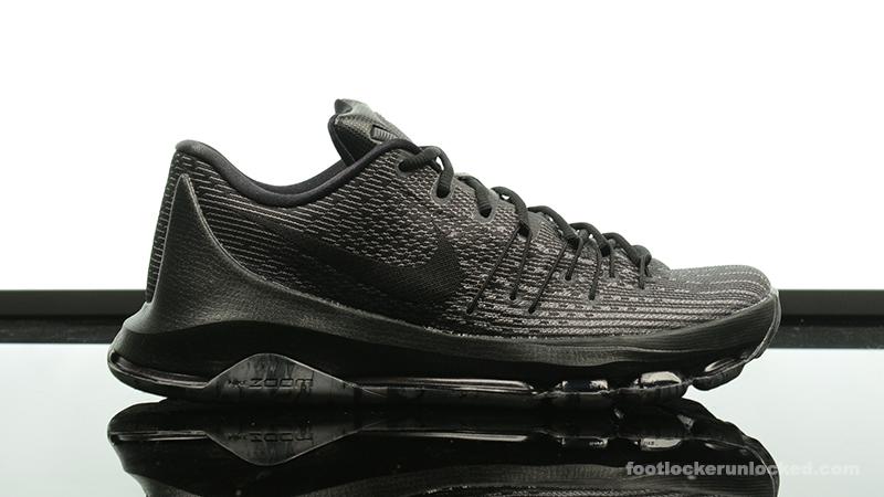 """buy popular 0117e 5188d Nike KD 8 """"Triple Black"""" – Foot Locker Blog"""