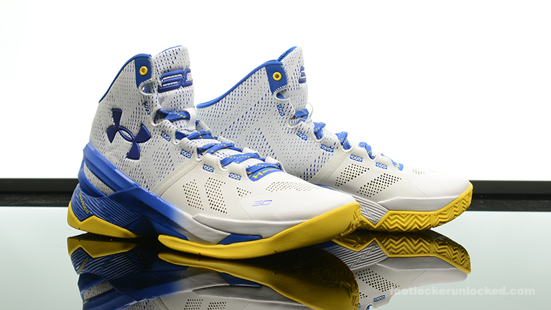 Foot Locker Exclusive Under Armour Curry 2 Dub Nation Home Foot