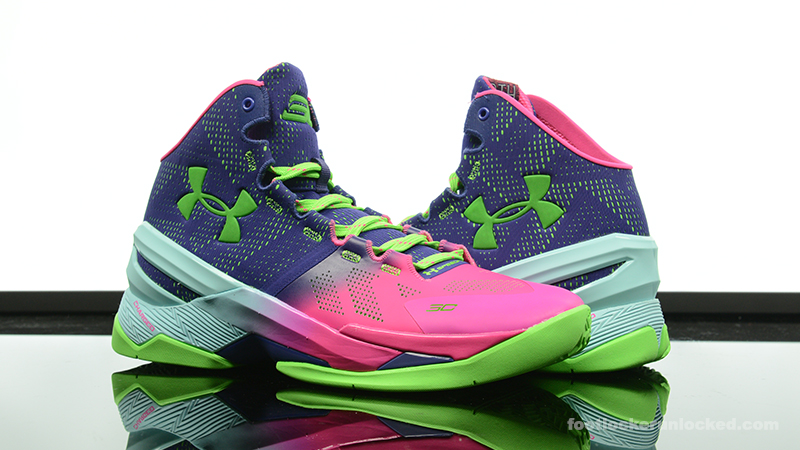 "0a08aee033f Under Armour Curry 2 ""Northern Lights"". December 15th - Posted By Foot  Locker Unlocked"
