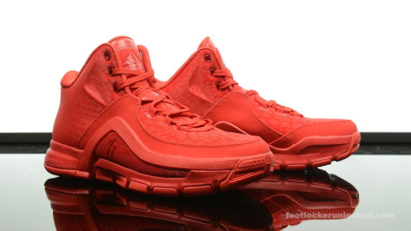 official photos d9603 86977 Foot-Locker-adidas-J-Wall-2-Red-Mono-