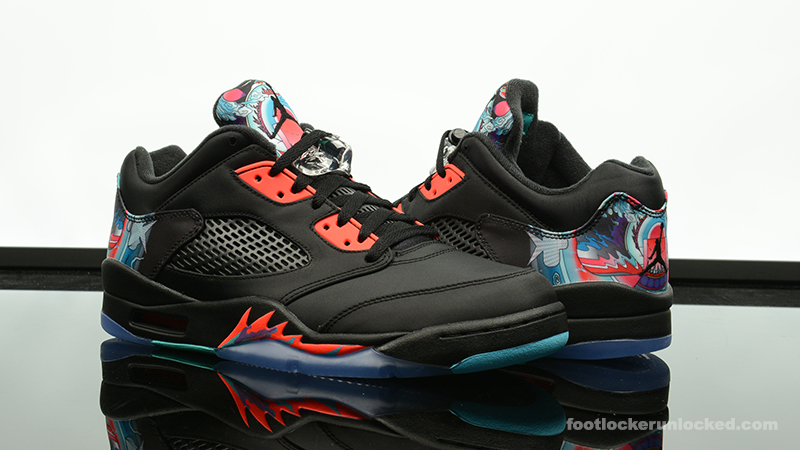 "e6c7a77ec663 Air Jordan 5 Retro Low ""Chinese New Year"" – Foot Locker Blog"