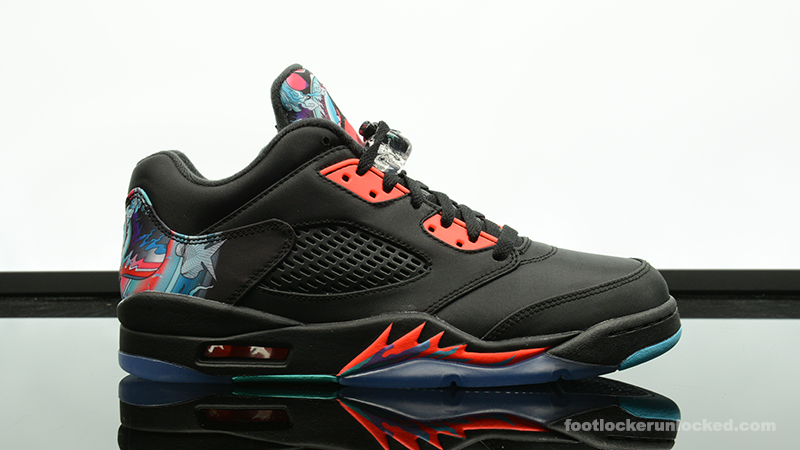 "3114bfc24bf9 Air Jordan 5 Retro Low ""Chinese New Year"" – Foot Locker Blog"