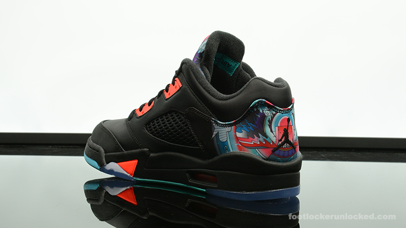 "4ff93db16ac626 Air Jordan 5 Retro Low ""Chinese New Year"" – Foot Locker Blog"