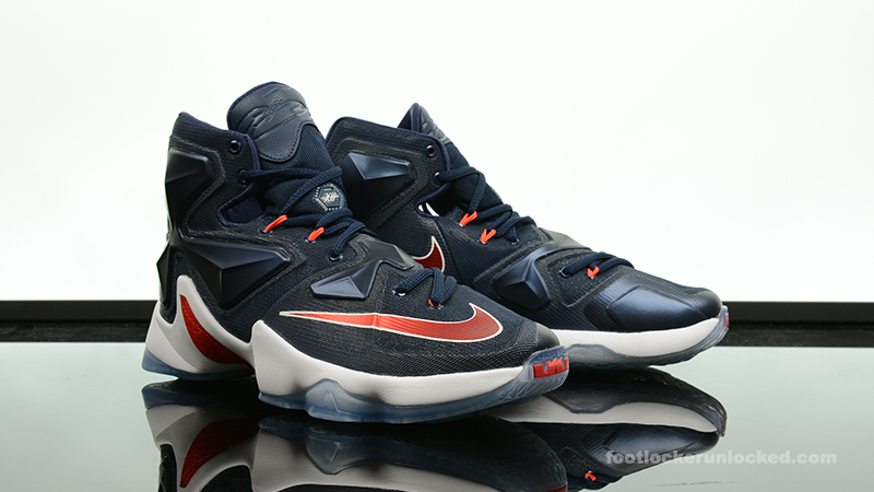 "50d1b6d10692 Nike LeBron 13 ""Midnight Navy"""