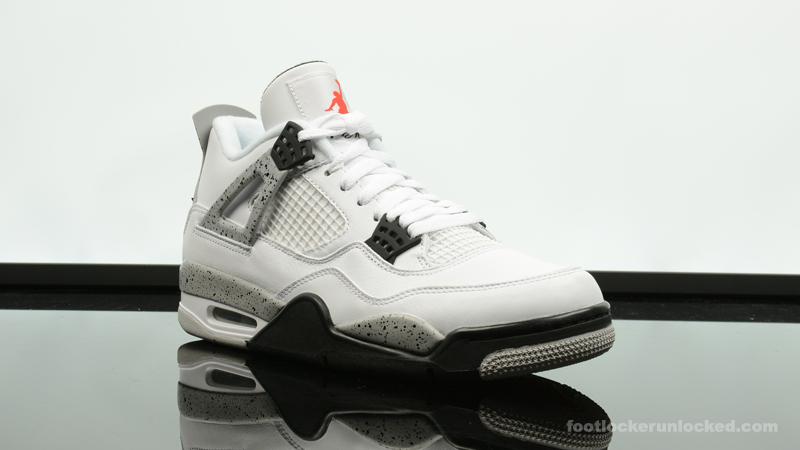 "los angeles 08e70 5c36e Air Jordan 4 Retro ""Cement"" – Foot Locker Blog"