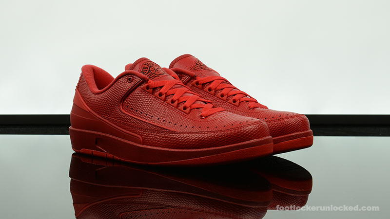 "efaaafc6cd69 Air Jordan 2 Retro Low ""Gym Red"""