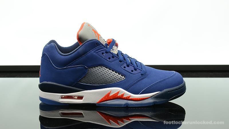 """413628f62c87b0 Air Jordan 5 Retro Low """"Royal Blue"""" – Foot Locker Blog"""