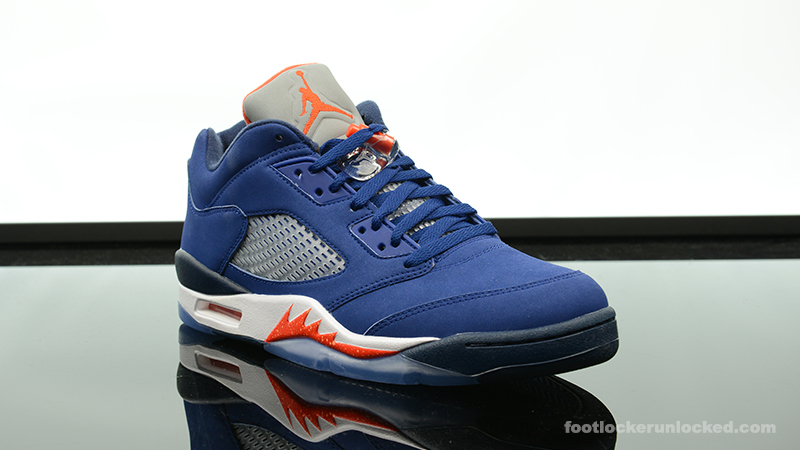 "the best attitude c4ff4 73992 Air Jordan 5 Retro Low ""Royal Blue"" – Foot Locker Blog"