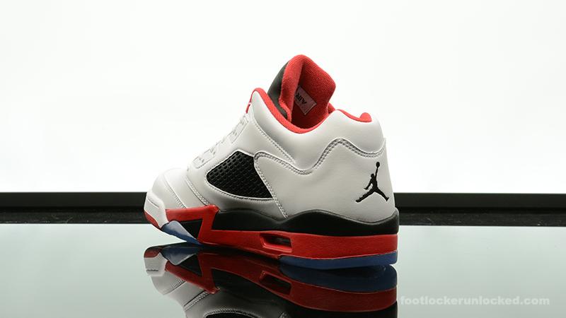 "be6b2fae1f02 Air Jordan 5 Retro Low ""Fire Red"" – Foot Locker Blog"