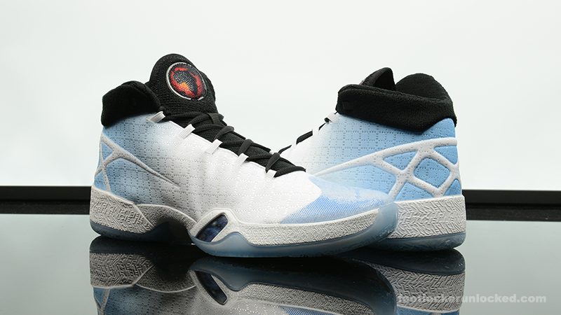 new concept 843fe 27fa2 Foot-Locker-Air-Jordan-XXX-UNC-1