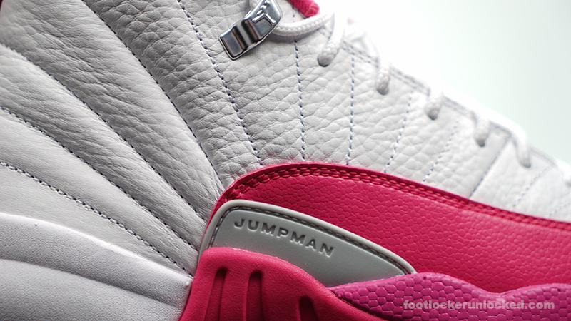 "new arrival 681cb 6eca3 Girls Air Jordan 12 Retro ""Vivid Pink"" – Foot Locker Blog"