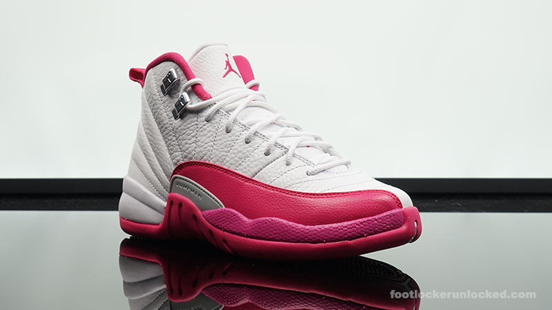 "new arrival 16400 8f72f Girls Air Jordan 12 Retro ""Vivid Pink"" – Foot Locker Blog"