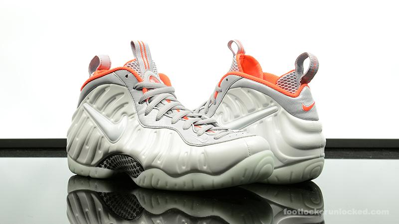 "e48cdb5575ff0 Nike Air Foamposite Pro ""Platinum Pro"" – Foot Locker Blog"