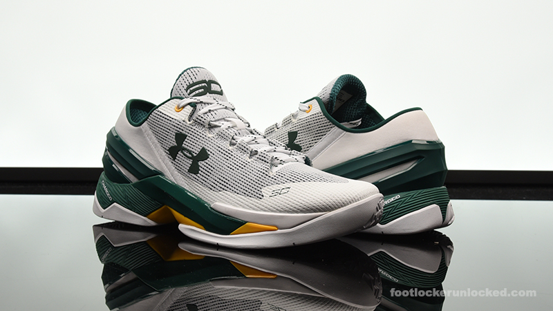 "Under Armour Curry 2 Low ""A s"" – Foot Locker Blog 6e97bbaccf9d"