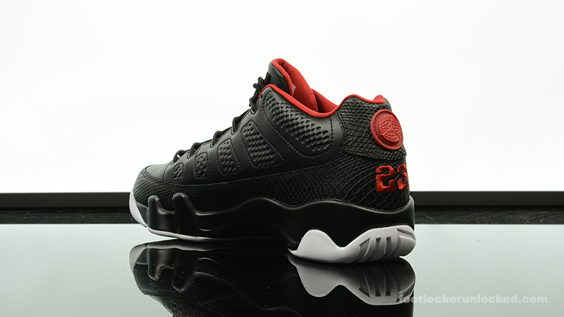 "check out f13a3 3a92a ... Air Jordan 9 Retro Low ""Black/White"" – Foot Locker Blog ..."