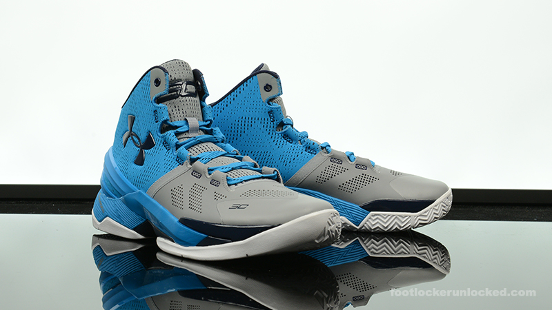 "san francisco 1b51d 3f126 Under Armour Curry 2 ""Electric Blue"" – Foot Locker Blog"
