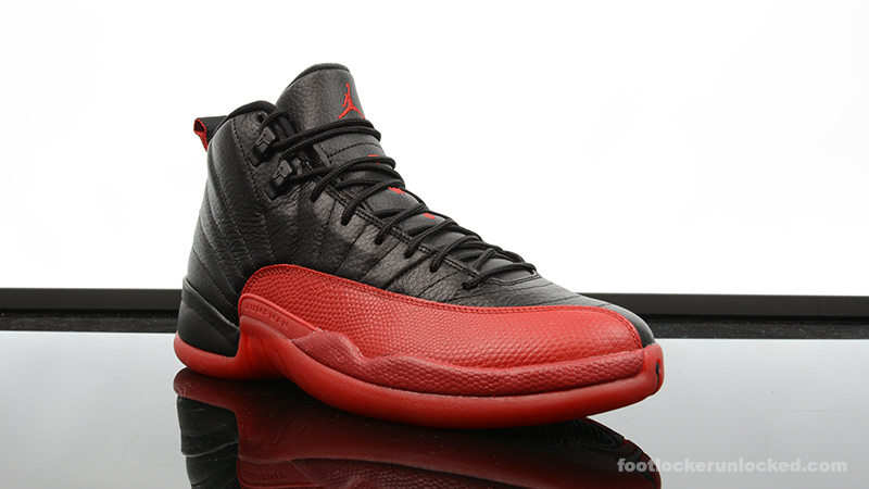 """645bd1fd9dc Air Jordan 12 Retro """"Flu Game"""" – Foot Locker Blog"""