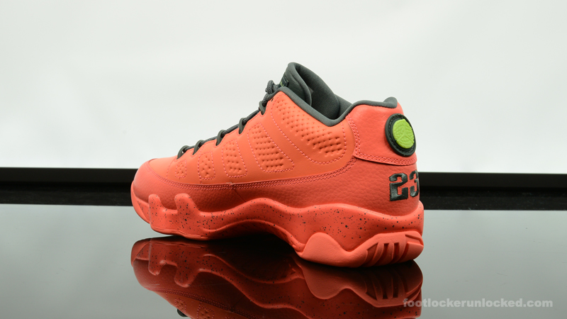 "26bf19a52cf4 Air Jordan 9 Retro Low ""Bright Mango"" – Foot Locker Blog"