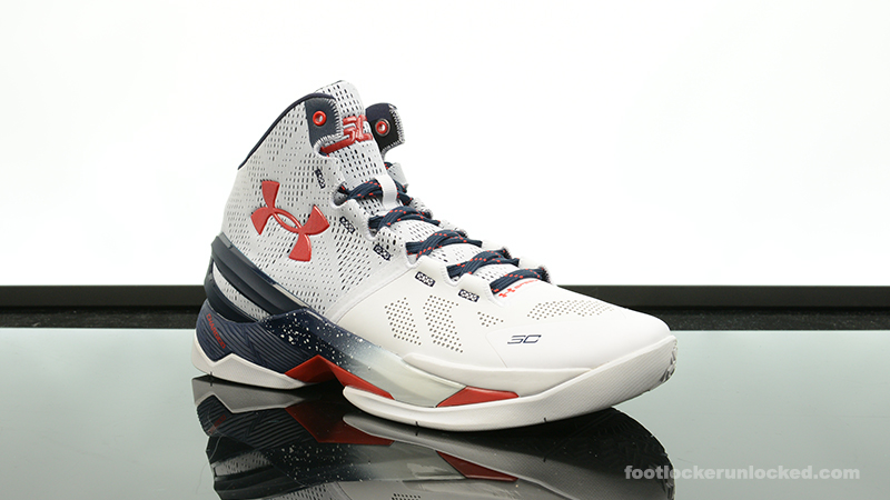 curry 2 blue and white