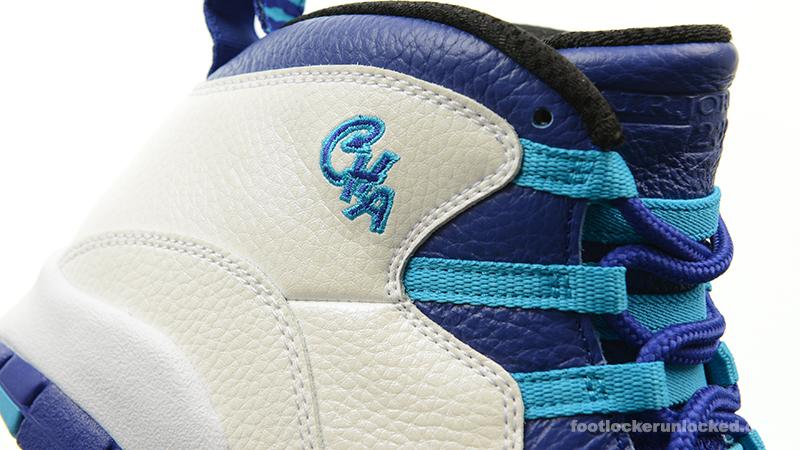 """Air Jordan 10 Retro """"Charlotte"""" – Foot"""